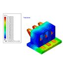 Mold flow simulation