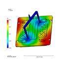 Temperature rise simulation