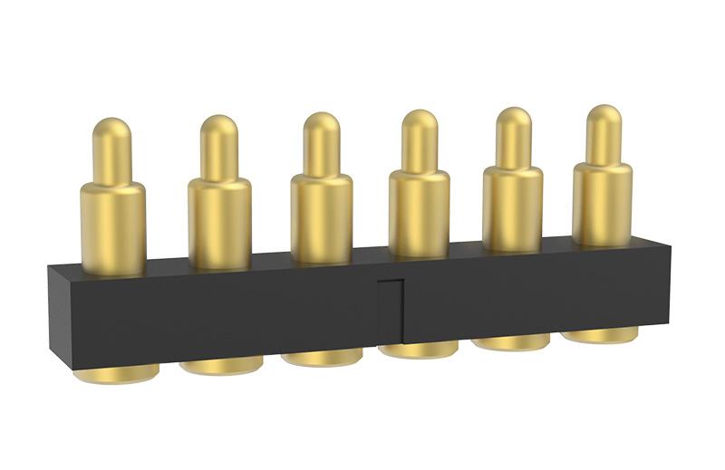 6 Pin Pogo Pin Connector