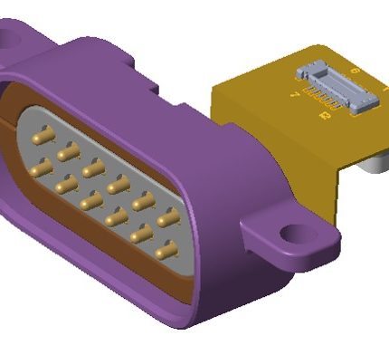 Application of pogo pin connector